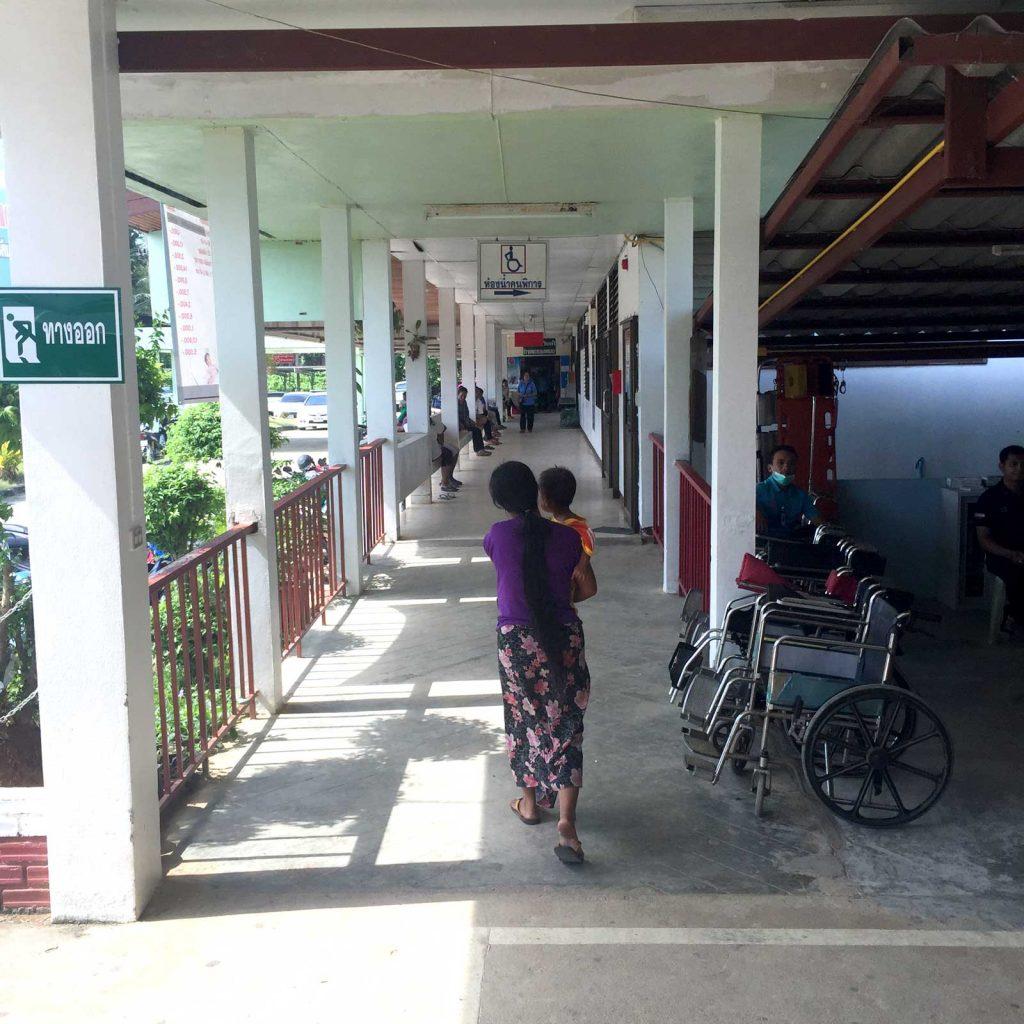 Thailand Krankenhaus