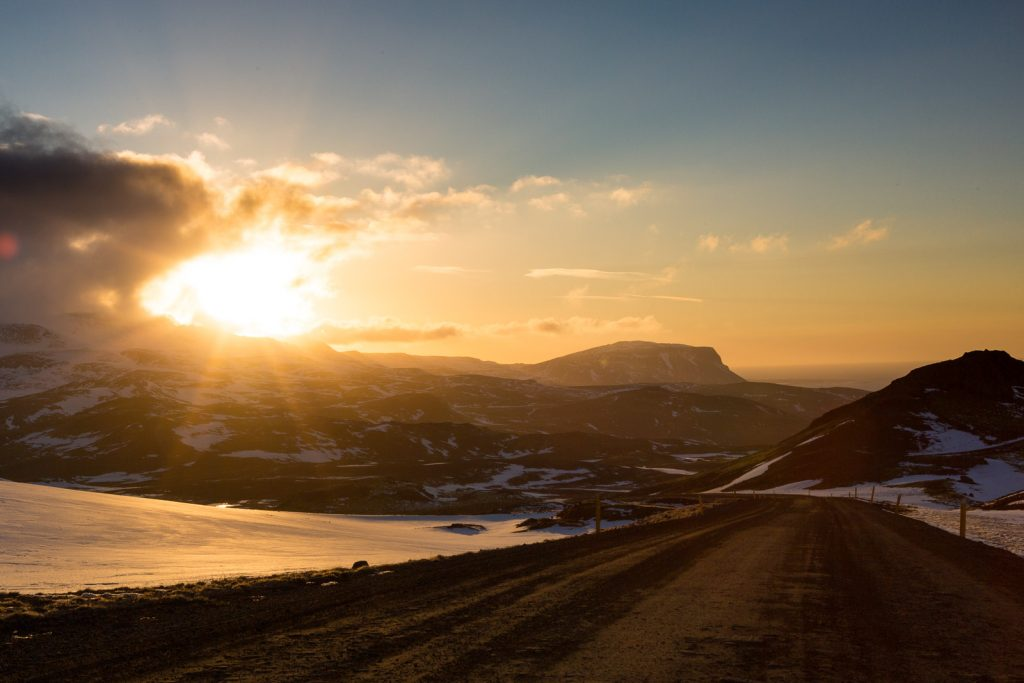 Island Reise im Winter