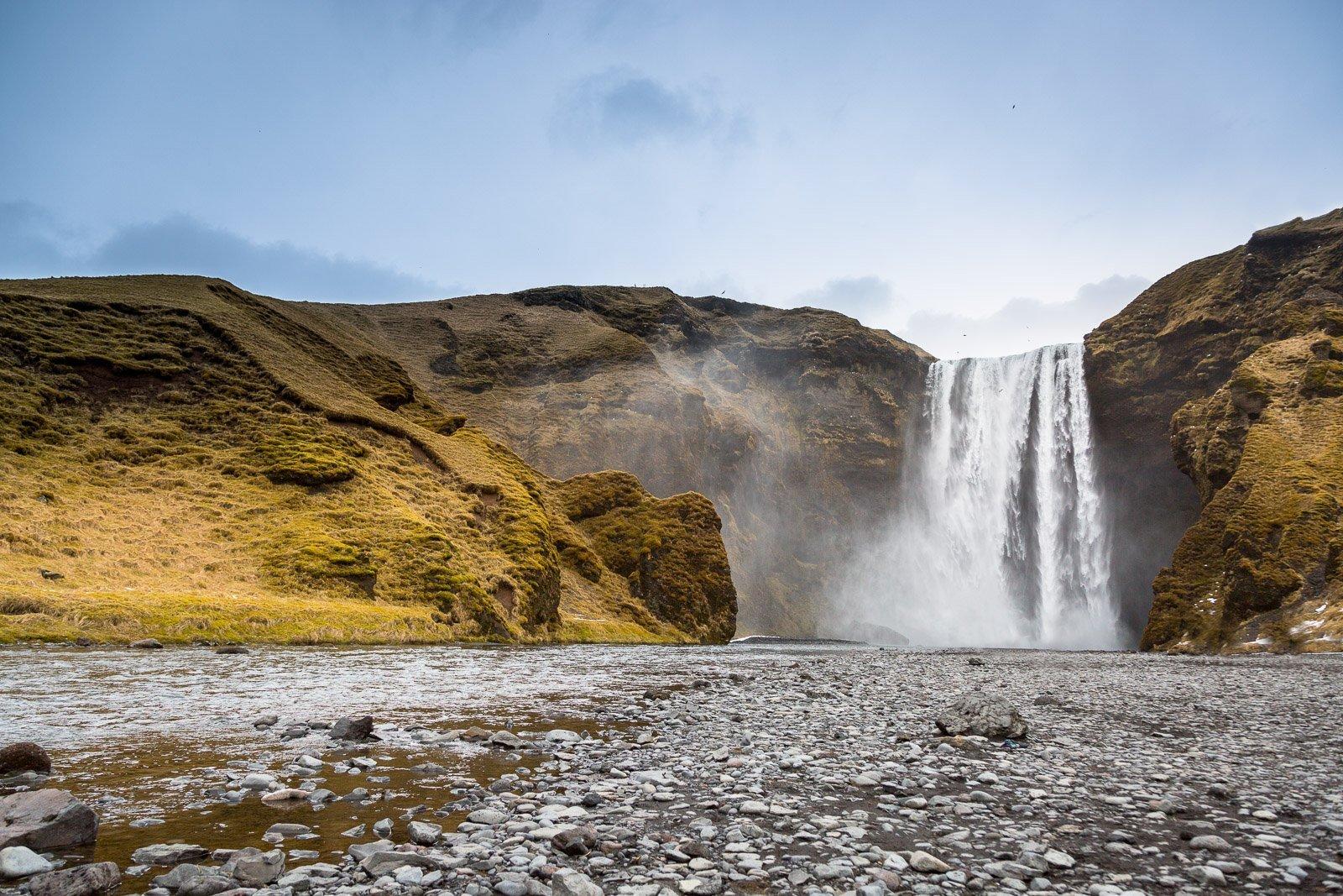 Stoppover Reykjavik Skogafoss