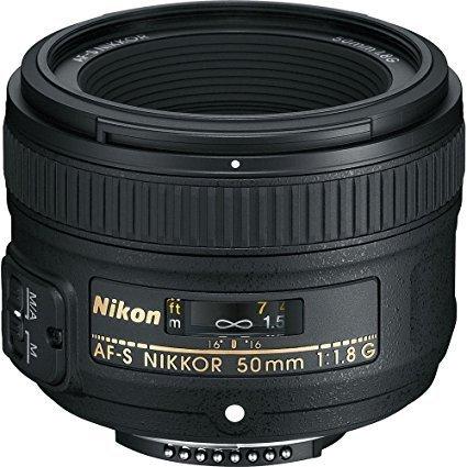 Nikon AF-S NIKKOR 50 mm 1:1,8G Objektiv (58mm Filtergewinde)
