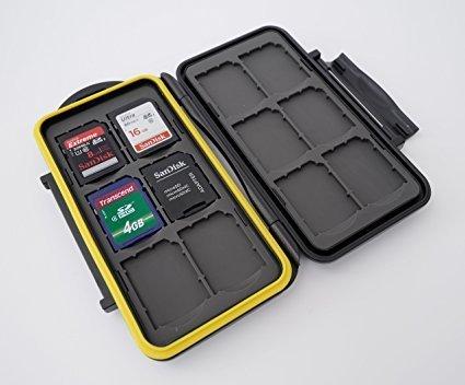 Ares Foto® MC-SD12 Speicherkarten Schutzbox