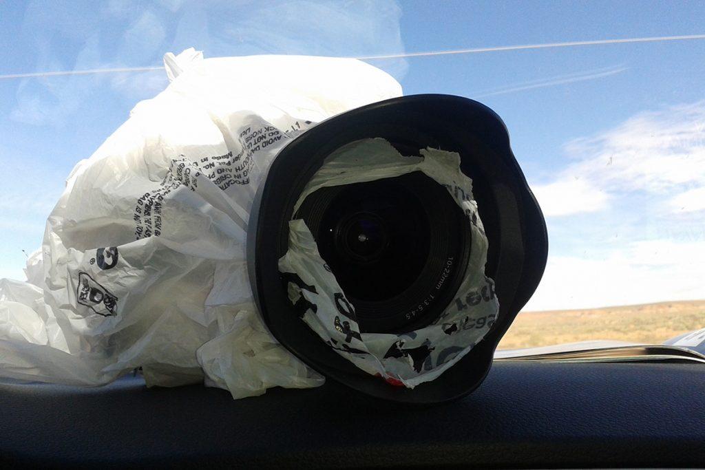 Regenschutz Kamera