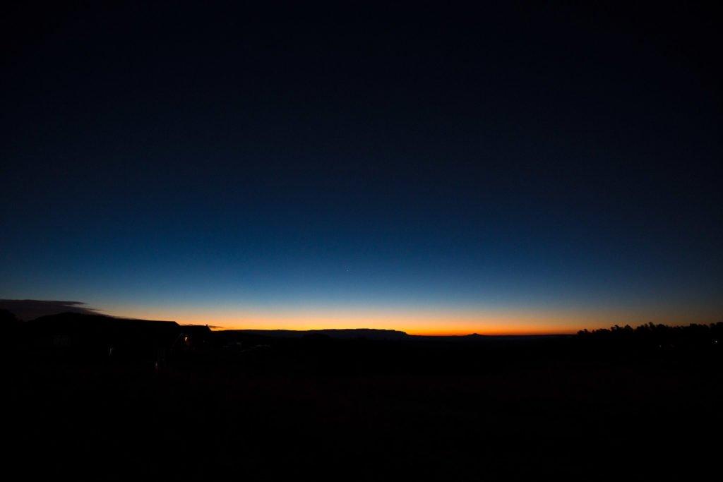 Sonnenaufgang Zion