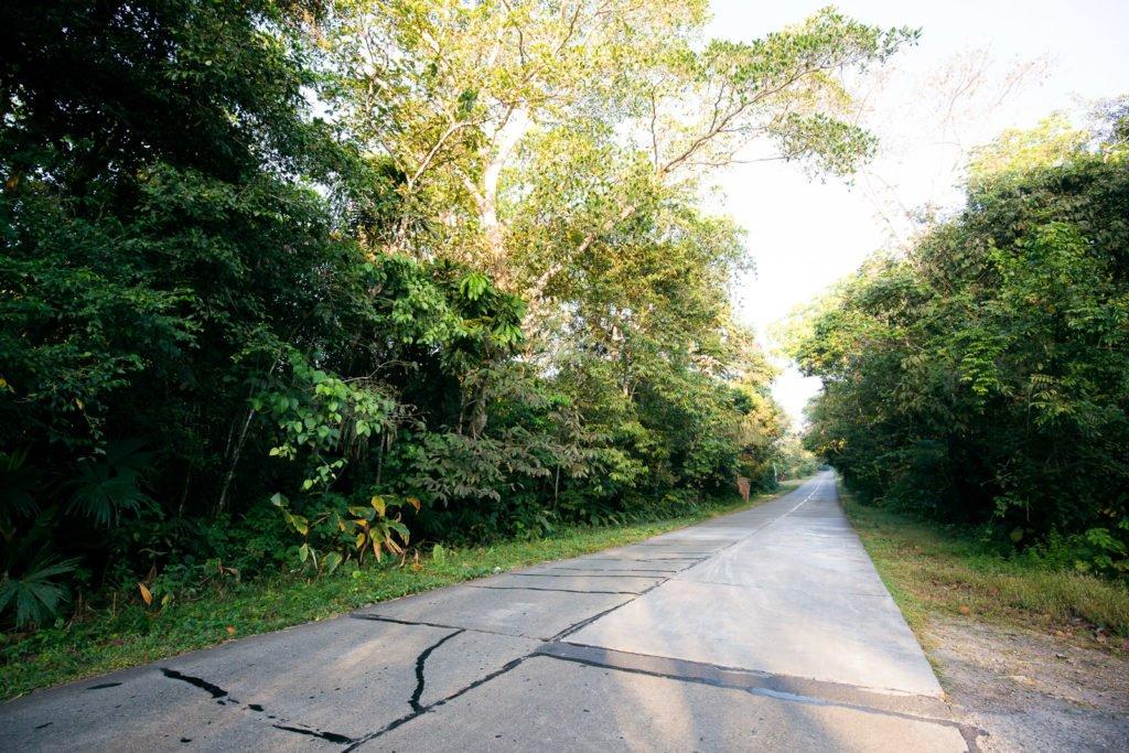 Anfahrt zum Soberania Nationalpark