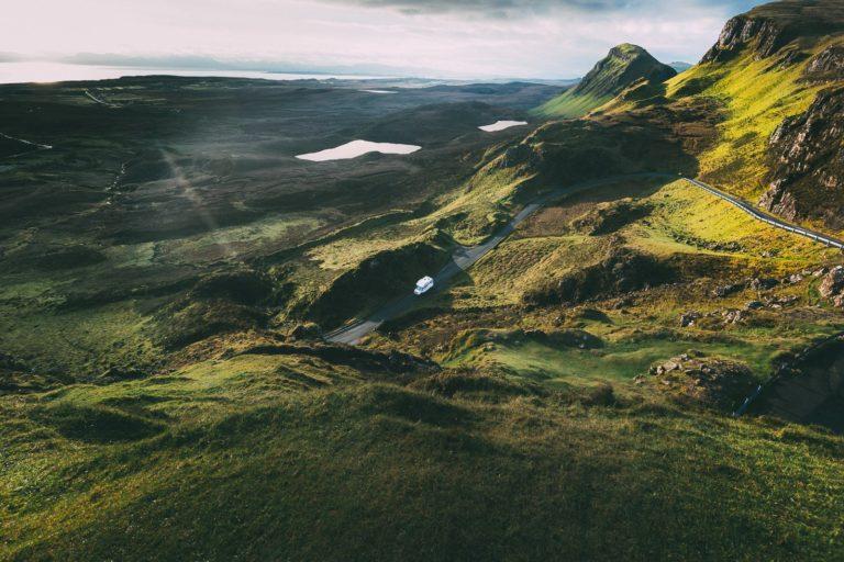 Wohnmobil Schottland Reise
