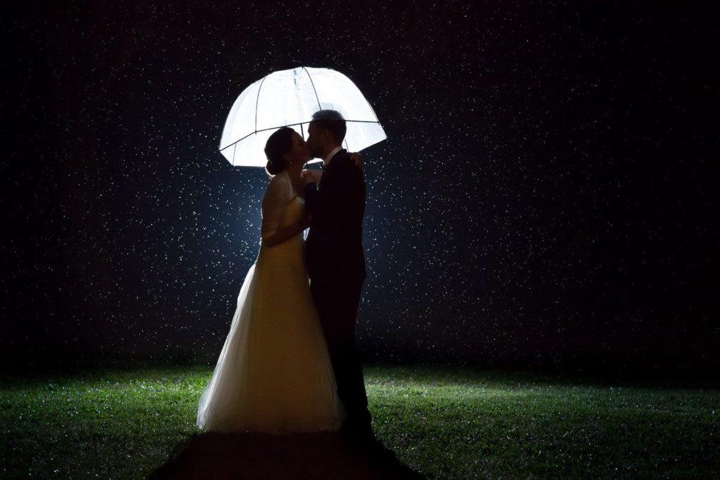 Hochzeitsfotografie schlechtes Wetter