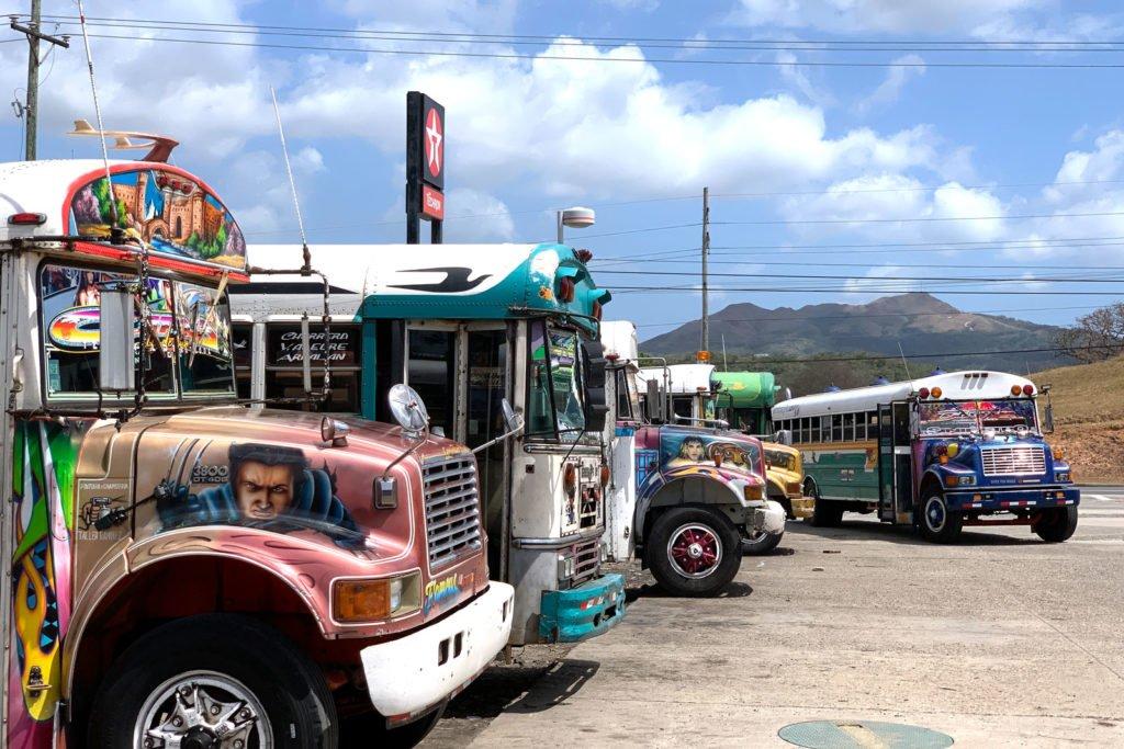 Busfahren und Bussystem in Panama