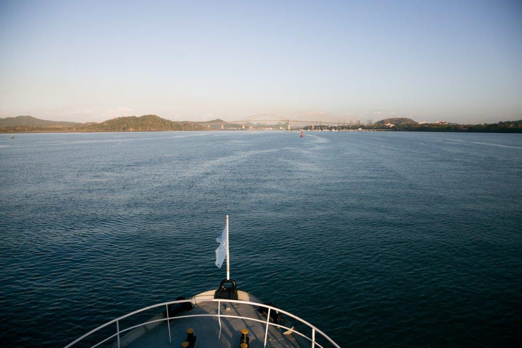 Durchquerung Panamakanal