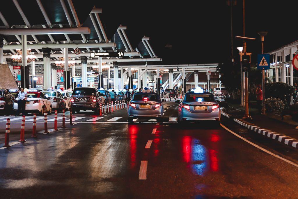 Kontrolle an einem Grenzübergang